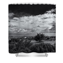 Valley Daydream Shower Curtain