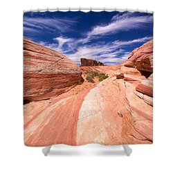 Valley Of Fire 2 Shower Curtain