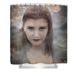 Vamp Shower Curtain by Bruce Stanfield