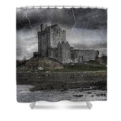 Vampire Castle Shower Curtain