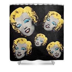 Vampire Marilyn 5 Shower Curtain by Filippo B