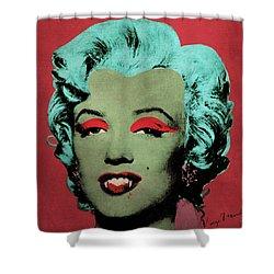 Vampire Marilyn Variant 1 Shower Curtain by Filippo B