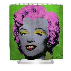 Vampire Marilyn Variant 2 Shower Curtain by Filippo B