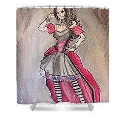Vampire Mihela Shower Curtain