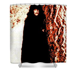 Vampire Red  Shower Curtain by First Star Art