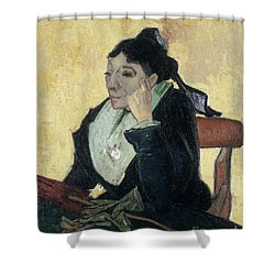 Van Gogh Larlesienne 1888 Shower Curtain by Granger