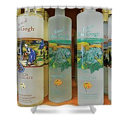 Van Gogh Spirits Shower Curtain