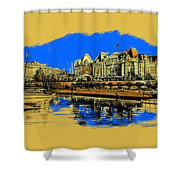 Vancouver Art 001 Shower Curtain by Catf