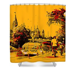 Vancouver Art 002 Shower Curtain by Catf