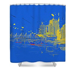 Vancouver Art 005 Shower Curtain by Catf
