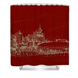 Vancouver Art 007 Shower Curtain by Catf