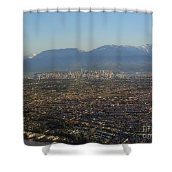 Vancouver At A Glance Shower Curtain