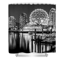 Vancouver Science World - By Sabine Edrissi Shower Curtain by Sabine Edrissi