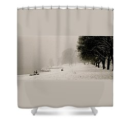 Vancouver Winter Shower Curtain