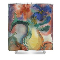 Vase Still Life 1 Shower Curtain