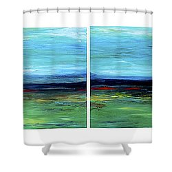 Vast Horizon Shower Curtain