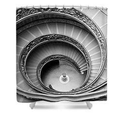 Vatican Spiral Shower Curtain