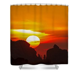 Vedauwoo By Sunrise Shower Curtain