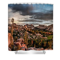Vedauwoo View Shower Curtain by Steven Reed