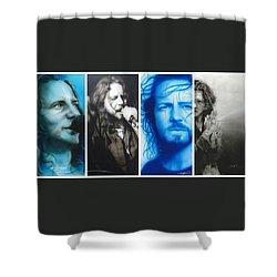 Vedder Mosaic I Shower Curtain