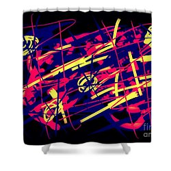 Vegas Delight Shower Curtain