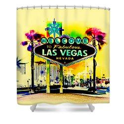Vegas Weekends Shower Curtain