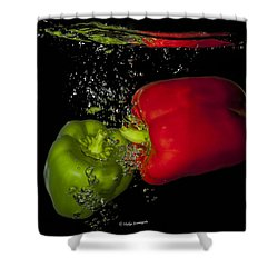 Veggie Bath Shower Curtain