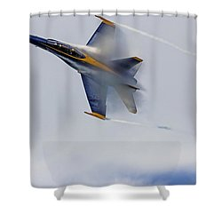 Shower Curtain featuring the photograph Veiled Angel by Kate Brown