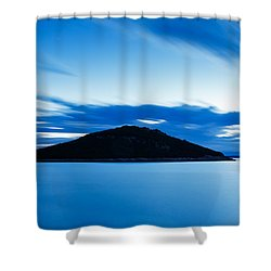 Veli Osir Island At Dawn Shower Curtain