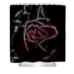 Velvet Rose 2 Shower Curtain