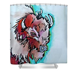 Velvet Stud Shower Curtain