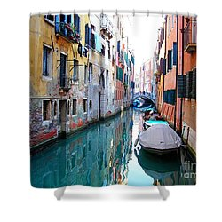 Venetian Calm Shower Curtain