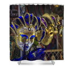 Venetian Carnival Masks Cadiz Spain Shower Curtain