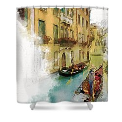Venice 1 Shower Curtain