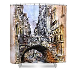 Venice 2 Shower Curtain