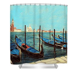 Venice Shower Curtain by Anastasiya Malakhova