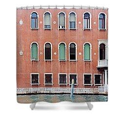 Venice Apartment Shower Curtain