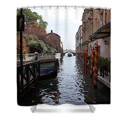Venice Dock Shower Curtain