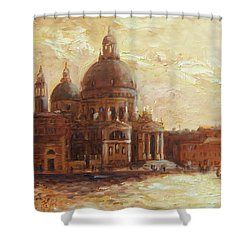 Venice - Santa Maria Della Salute Shower Curtain