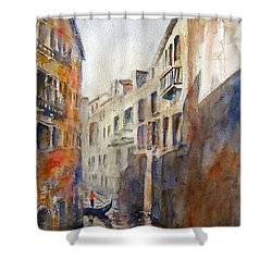 Venice Travelling Shower Curtain