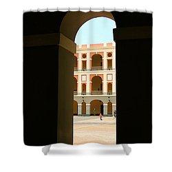 Ventana De Arco Shower Curtain