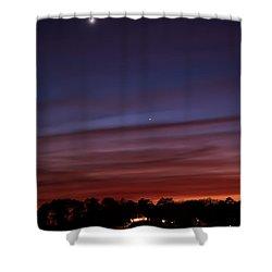 Venus And Mercury Shower Curtain