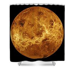 Venus Shower Curtain by Sebastian Musial