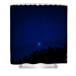 Venus Setting Shower Curtain