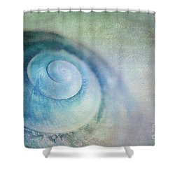 Venuto Di Mare Shower Curtain by Priska Wettstein