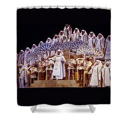 Verdi Aida Shower Curtain