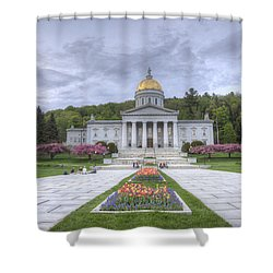 Vermont State House Shower Curtain