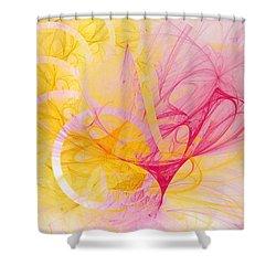 Vernal Equinox Shower Curtain