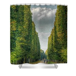 Versailles Promenade Shower Curtain