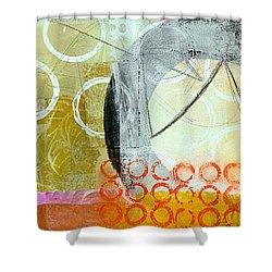 Vertical 4 Shower Curtain by Jane Davies